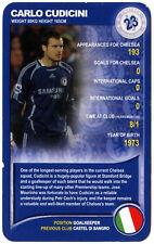 CARLO CUDICINI Chelsea Football Club Top Trumps speciali CARD (C407)