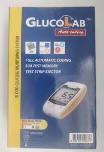 GlucoLab Blood Glucose Diabetic Monitoring System/Monitor/Meter + Test Strips