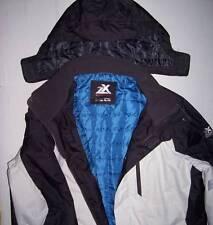 NWT Mens ZeroXposur Winter Coat XL Extra Large Cream Blue
