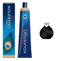Wella Koleston Pure Naturals Hair Color 60ml 33/0 Intense Dark Brown