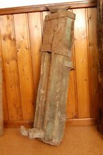 alte Stockwinde, Kurbelwinde,Zahnstangenheber aus Eichenholz (ca.100 Jahre) 35kg