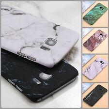 Funda de teléfono para Samsung Galaxy S7 7 S8 S9 Plus Ultra Delgado Cubierta Protectora de mármol EDGE