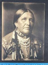 Antique 1906 George Cornish Original collotype of Otoe Indian Woman