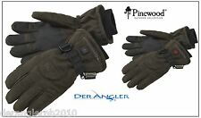 Pinewood Beheizter Handschuh 9988 Angler - Jagdhandschuh Braun NEW