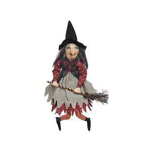 Halloween/Folk Art Joe Spencer Gathered Traditions Paprika Witch Free Ship