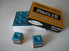 CRAIE billard  boite de 12 Craies billards bleue