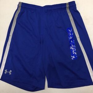 NWT Men's Under Armour Athletic Shorts Blue LARGE NEW