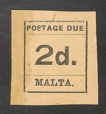 Malta Scott #J4 VF MINT - 1925 2p Postage Due - SCV $12.00