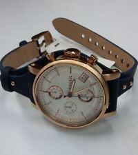 Fossil ES3838 Original Boyfriend Chronograph Navy Leather Women's Watch