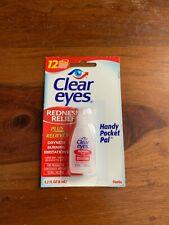 Clear Eyes Gouttes Soulagement rougeur et irritation Yeux 6ml