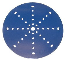 "Meccano Part 146 Circular Plate 6"" Diameter Blue"