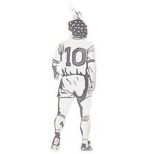 AD10S Diego Armando Maradona 925er Silber Anhänger Made in Italy #001