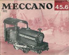 Catalogue Meccano N° 4,5 et 6 catalogo Katalog