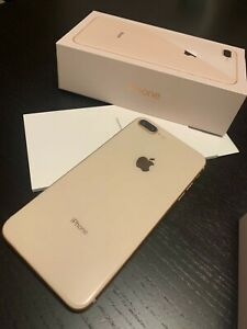 Apple iPhone 8 Plus - 256 GB - Gold (Unlocked)