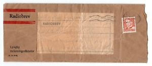 DENMARK: Radio letter Lyngby 1952, contents.