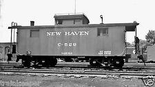 New Haven (NH) Caboose #C-529 Black & White Print