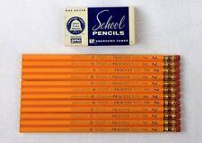 12 Vintage Eberhard Faber Princess 1396 No.2 School Pencils