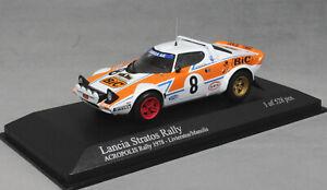 Minichamps Lancia Stratos Acropolis Rally 1978 Livieratos & Manolis 430781208
