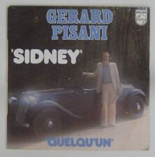 Citroen Traction 45 tours Gérard Pisani 1976