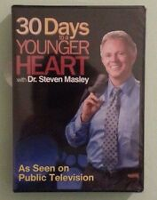 dr steven masley  30 DAYS TO A YOUNGER HEART     DVD NEW