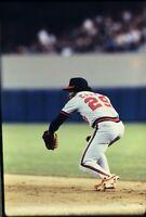 Rod Carew 35mm Baseball Slide California Angels Vtg MLB C13