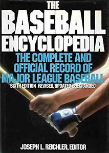 Baseball Encyclopedia : Complete and Official Record of Major League Baseball