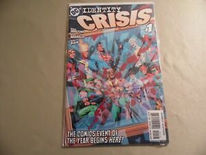 Identity Crisis #1 (DC 2004) 3rd Print / Free Domestic Shipping