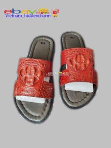 Men's Sandals- Genuine Crocodile/Alligator Skin-100% Handmade