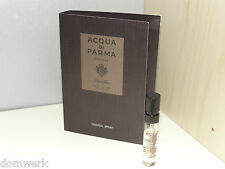 ACQUA DI PARMA Colonia Leather eau de cologne concentree 1.5ml Vial Sample New
