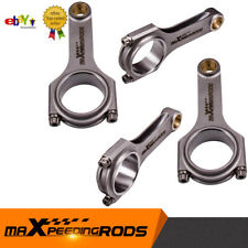 for Fiat Punto GT 1.4 1.6 Conrod 128.50mm 800HP piston h beam Connecting Rod
