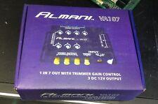 7 way video spliter with Trimmer Gain Control 3Dc 12V Output Almani Va107
