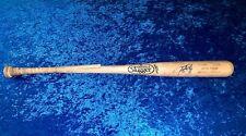 Justin Turner LA Dodgers Signed 2015 Game Used Louisville Slugger Bat