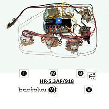 Bartolini HR-5.3AP Pre-Wired 3 Band EQ Active/Passive Preamp