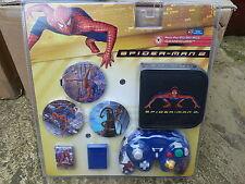 NINTENDO GAMECUBE SPIDERMAN KIT CONTROLLER MEMORY CARD GAME WALLET LID BRAND NEW