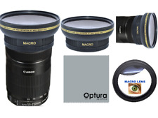58MM HD3 16k WIDE ANGLE LENS + MACRO LENS FOR Canon EF-S 55-250mm f/4-5.6 IS STM