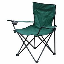Folding Fishing/ Camping Chair with Cup Holder and Carry Bag