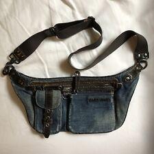 Miu Miu Prada Waist Bag Denim Pockets Pochette
