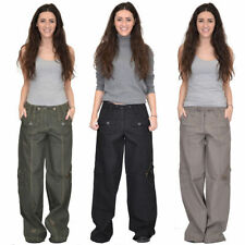 Cargos Mid Rise 32L Trousers for Women