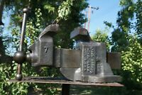 Vintage ATHOL No.614 Machinist Bench Vise,Collectible 4''Jaw 48 Lbs Vice