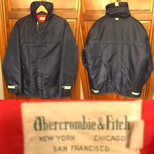 Abercrombie & Fitch Anorak Parka Jacket Hooded Men's L Vintage 1960s