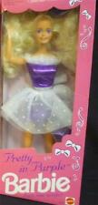 Pretty in Purple Barbie  1992 NIB