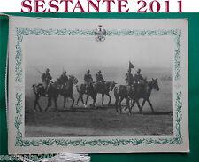 CALENDARIO REGGIMENTO LANCIERI DI NOVARA 1972 CORDONCINO ORIGINALE ESERCITO