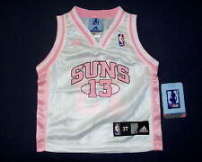 New Adidas Steve Nash #13 Phoenix Suns Girls Toddler Jersey 2T or 4T