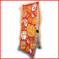 """X Banner Stand W32""""xH68"""",  FREE Printing Trade Show Display X220"""