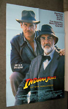 Indiana Jones And The Last Crusade original Rare 1989 poster Harrison Ford