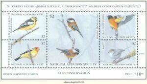 Audubon Society Wildlife 2012 $10.00 songbirds *SALE*