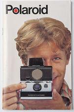 Polaroid BedienungsanleitungSX - 70 land camera instruction
