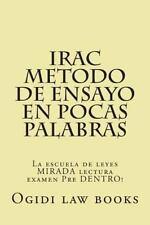 IRAC Metodo de Ensayo en Pocas Palabras : La Escuela de Leyes MIRADA Lectura...