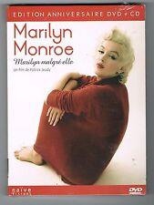 MARYLIN MONROE - MARYLIN MALGRÉ ELLE - ÉDITION ANNIVERSAIRE DVD + CD - NEUF NEW