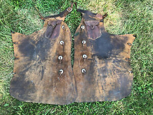 Vintage Fred Muller Batwing Chaps